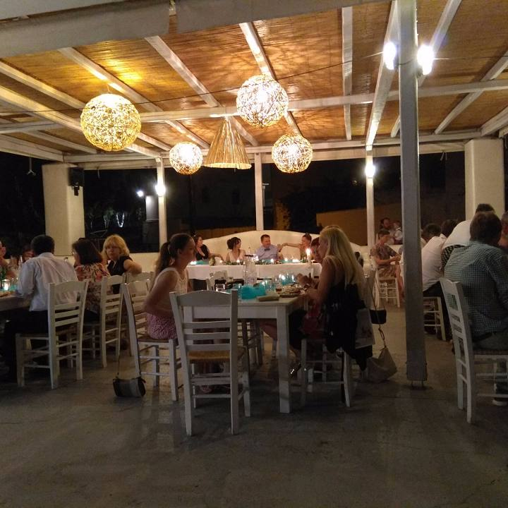 Platia Restaurant on Naxos Island