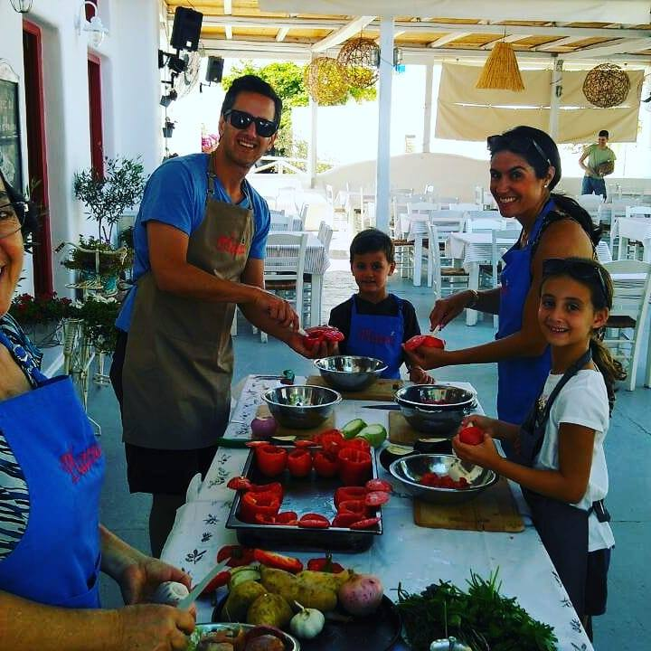 Cooking Tours on Naxos Island